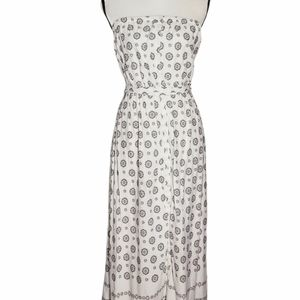 Old Navy paisley strapless maxi dress